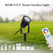 Miboxer FUTC04 6W Rgb + Cct Smart Led Tuin Lamp Outdoor Landschap Licht IP66 Milight FUTC03 15W FUTC05 25W Rgb + Cct Gazon Verlichting(China)
