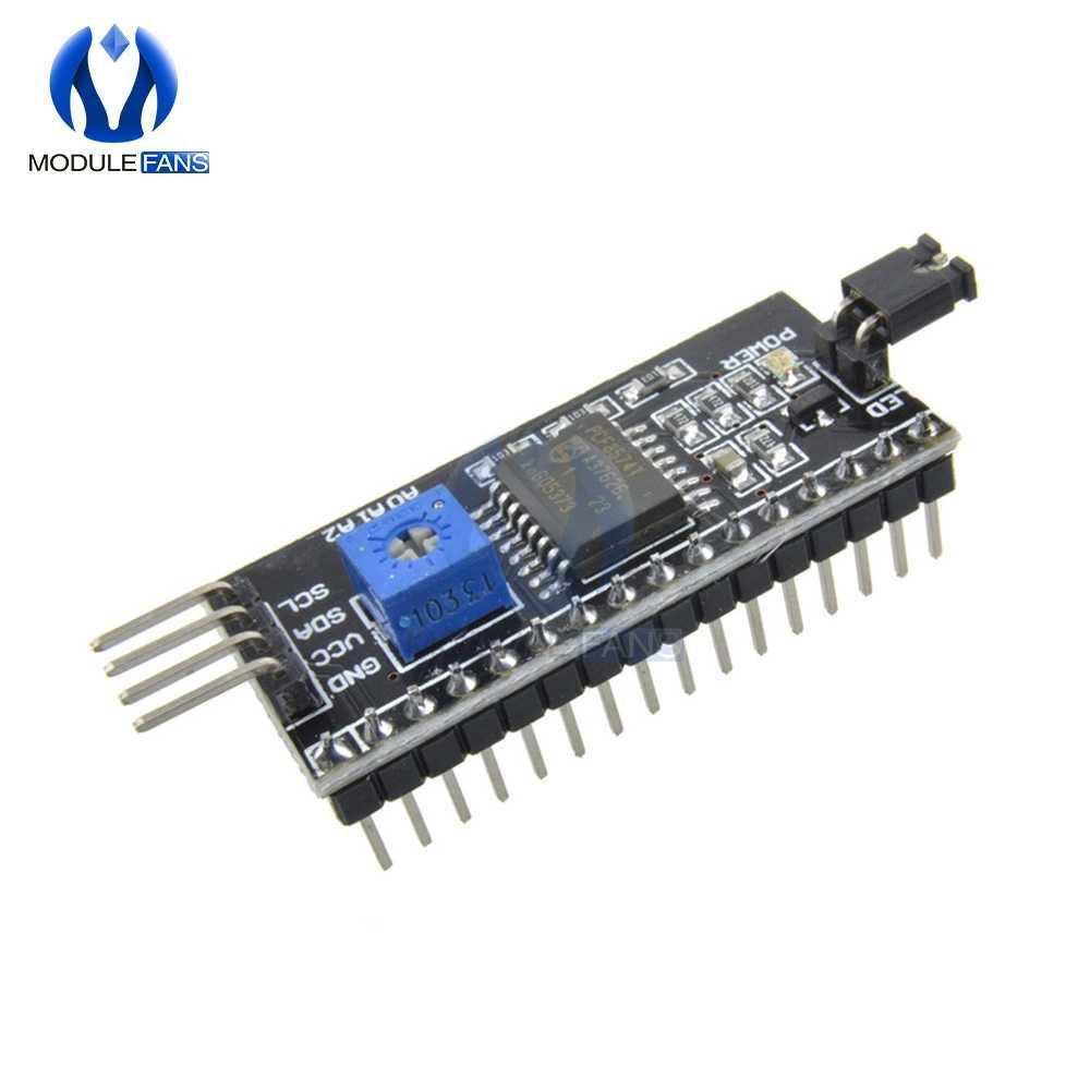 IIC I2C TWI SPI Port d'interface série pour Arduino 1602 2004 LCD LCD1602 adaptateur plaque LCD convertisseur Module carte pour l'affichage