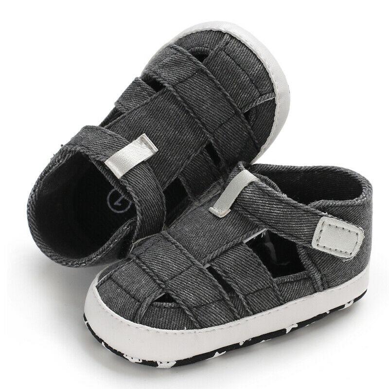 Baby Boy Girl Summer Sandals 0-18M 4