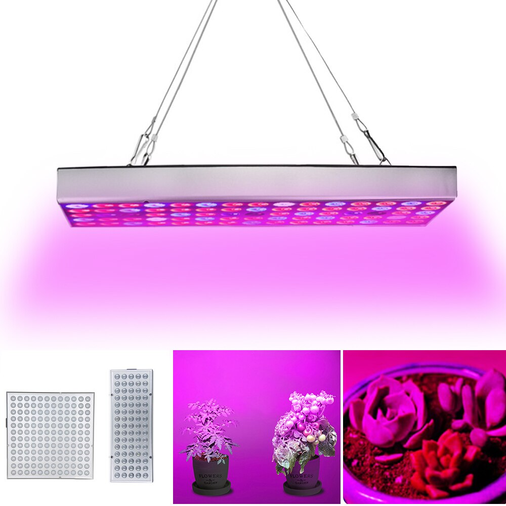 25W 45W Led Grow Light Panel Red Blue White IR UV Led Grow Light Full Spectrum Fitolampy For Indoor Plants Greenhouse Hydroponic