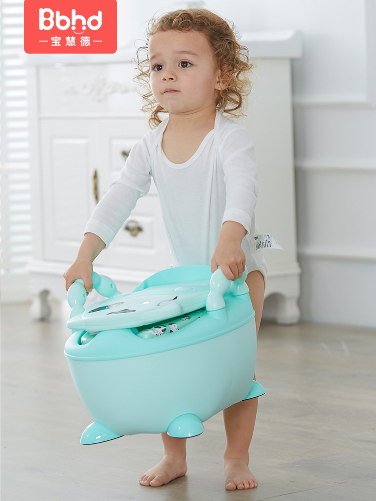 CHILDREN'S Toilet Pedestal Pan Boy Baby Girls Kids Infant CHILDREN'S Potty Urinal Extra-large No. Toilet Toilet