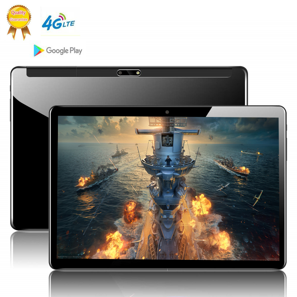 4G LTE Global Version 10.1 Inch 2.5D Tablet PC 10 Deca  Core 8GB RAM 128GB ROM Android 9.0 WiFi  IPS Tablet Holder MT6797 S119