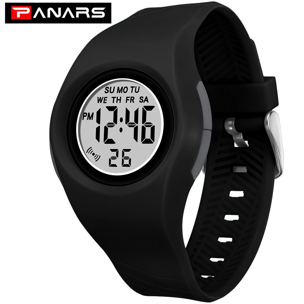 PANARS Kids Digital Watches Fashion Waterproof Luminous Alarm Chronograph Children Electronic Watch Relogio Students Watch