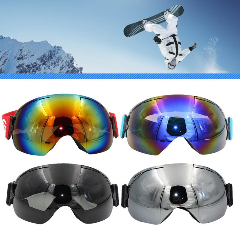 2020 Ski Goggles Double Layers UV Anti-fog Big Ski Mask Glasses Skiing Snow  Mask Snowboard Goggles Men Women Ski Eyewear