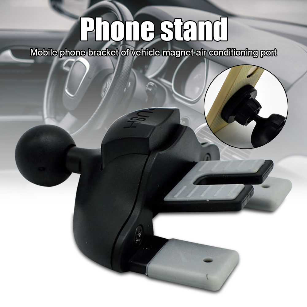 Car CD Slot Phone Holder Mount Cell Phones Navigation Air Vent Magnetic Mount Stand C66