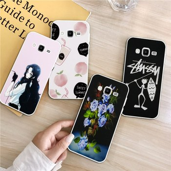 Carie-Hand 1 Silicon Soft TPU Case Cover For Samsung Galaxy Core Grand Prime Neo Plus 2 G360 G530 I9060 G7106 Note 3 4 5 8 9 image