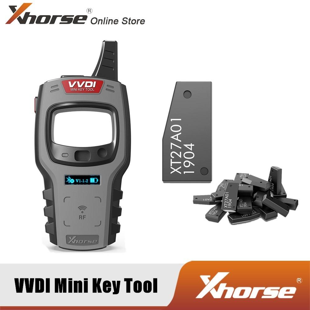 Xhorse VVDI мини ключ инструмент дистанционного ключа программист глобальная версия с Бесплатная 96bit 48-клон Функция получите 10 шт.; Бесплатная до...