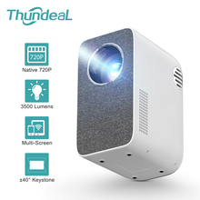 Proiettore ThundeaL TD855 HD 3500 Lumen ± 40 ° Keystone WiFi Mini proiettore multischermo per video 1080P 3D Home Cinema Beamer