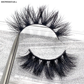 Showerstar 20mm Lashes 6d Eyelashes Extension Sexysheep Fake Makeup Eyelash Natural Fluffy No Cruelty Human Hair Pull Box D22 1