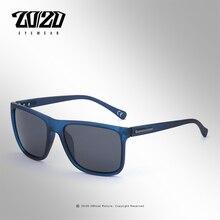 20/20 Brand Polarized sunglasses Men UV400 Classic Male Square