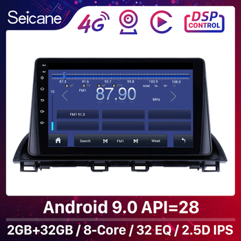 Seicane 2din Android 8.1 Car Head Unit Player For Mazda 3 Axela 3 BM 2013 2014 2015 2016 2017 2018 GPS Navigation Support wifi image
