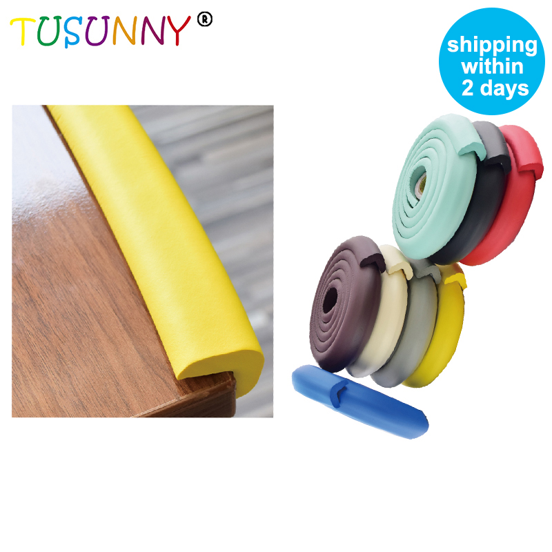 TUSUNNY 2M Baby Safety Corner Protector,Protective Pads For Corners, Edge Guard  Children Safe, Protection Corner For Furniture