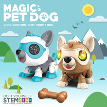 SUBOTECH Electronic Dog Toys Robotic Puppy Interactive Toy Birthday Gifts Present For Kids&Children Walks&Barks&Sleep