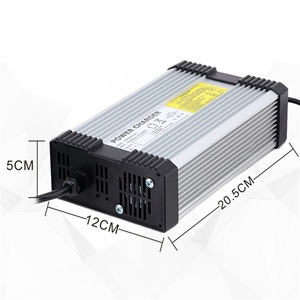 Image 2 - YZPOWER 50.4V 6.5A 7A 7.5A 8A Electric Power Lithium Lypomer Li Ion Battery Charger for 44.4V Ebike Chargeur Pile
