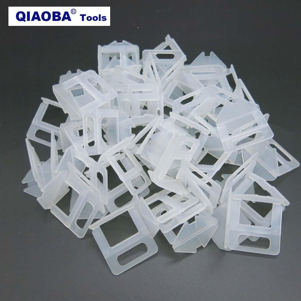 2.5mm Tile Clips Ceramic Tile Spacer  Pack Of 200pcs Tile Leveling System