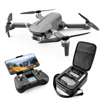 Hipac F4 RC Drone GPS with 4K Camera Remote Control Quadcopter GPS Drone Foldable Dron 25Mins Profesional Brushless Motor