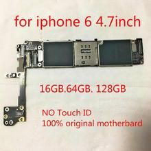 Logic-Board iPhone Circuits-Motheboard for 6 64GB Without Touch-Id Fingerprint--Tool