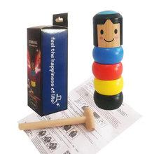 Неподвижный стакан Магическая упрямая деревянная игрушка для
