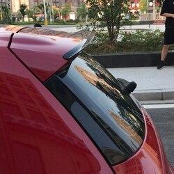 Dla VW Volkswagen Scirocco Spoiler 2009-2017 dekoracja skrzydła samochodu ABS Piano Black bagażnik tylny Spoiler dachowy (nie dla R)