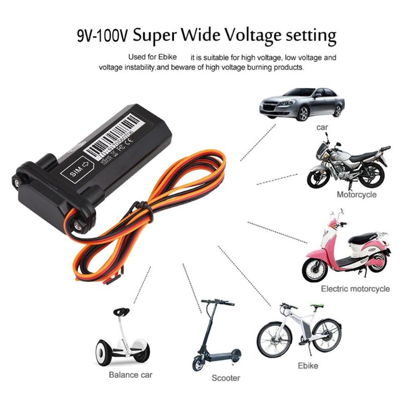 ST-<font><b>901</b></font> Motorcycle Waterproof GSM <font><b>GPS</b></font> Tracker Main Power Cut-off Alarm Real-time Tracking Finder Vibration Overspeed Alarm image