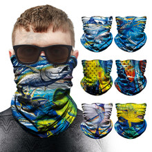 Windproof Fishing scarf Cycling bandana ciclismo men Camouflage Camo Bandanas Face Mask Neck Scarfs Headband Outdoor sports fish
