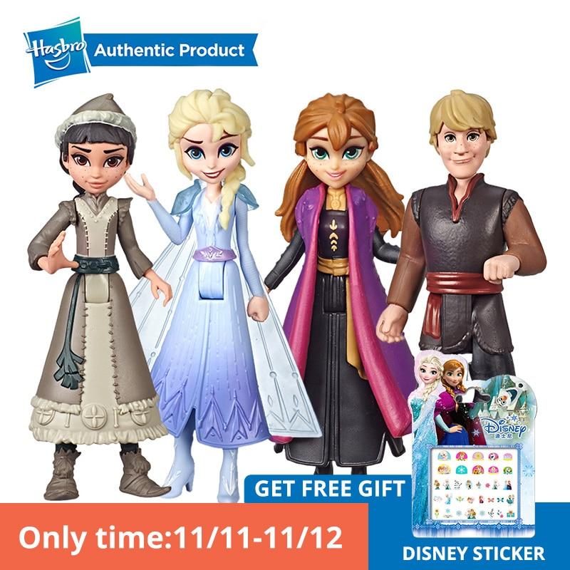 Hasbro Disney Frozen Elsa, Anna Kristoff Honeymaren Small Doll Princess With Cape Dress Inspired By The Disney Frozen 2 Movie