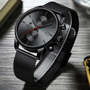 Image 2 - Mens Watches Top Luxury Brand Men Fashion Business Watch Casual Analog Quartz Wristwatch Male Waterproof Clock Relogio Masculino