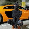 Shiny Outstanding Bodycon Hooded Jumpsuit Women Long Sleeve Sexy Backless Fashion Streetwear Skinny Slim Female Overoll