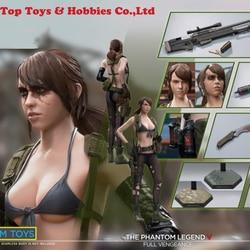 In magazzino 1/6 scala LIMTOYS TIIXIJ Guilty farfalla shooter Figura testa e abbigliamento arma modello set per S19B Corpo Collezioni