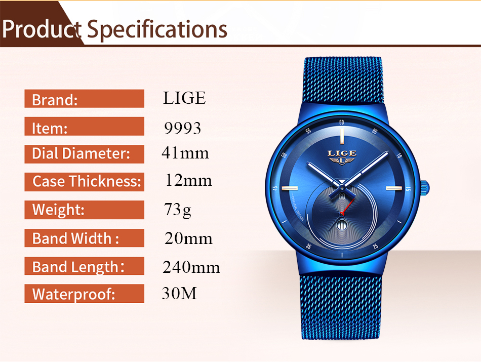 H1d71a97300784cddb52955e01226284dU - Watch Women And Men Watch LIGE Top Brand Luxury Ladies Mesh Belt Ultra-thin Watch Waterproof Quartz Wrist watch Reloj Mujer