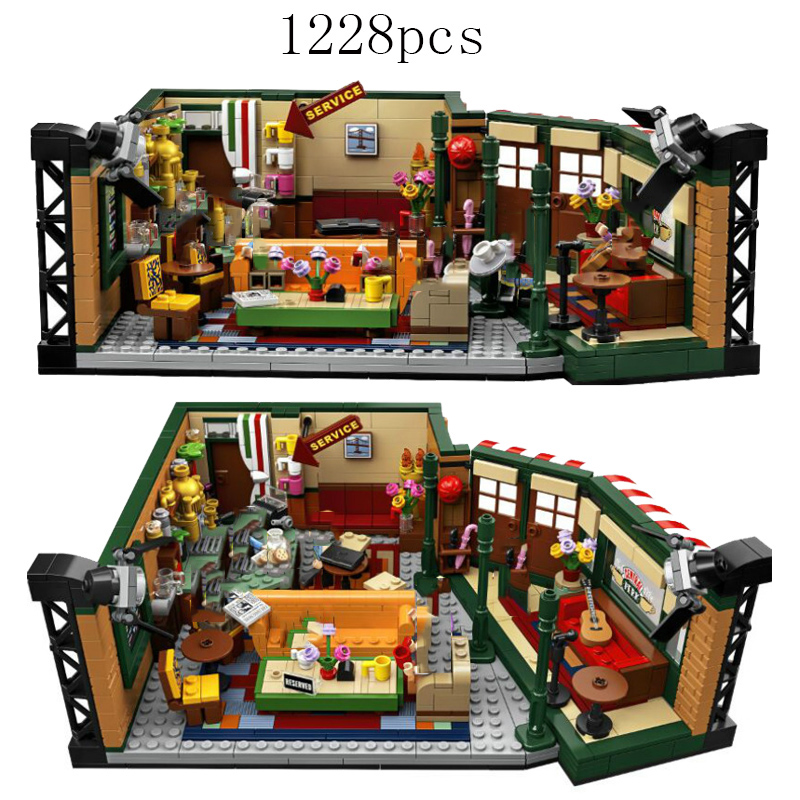 Classic TV Series Bricks Friends Central Perk Compatible Lepining Ideas <font><b>21319</b></font> Building Blocks Toys for Children Birthday Gift image