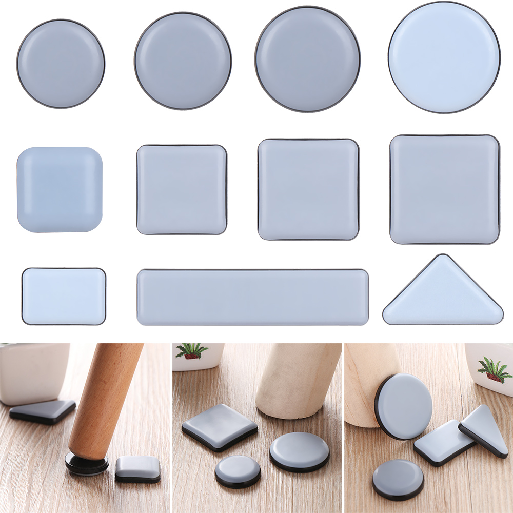 Chair Legs Brown 35 mm Dia self Adhesive 3 mm Thick as Floor Protector for case Legs 8 Pieces Table Legs Made in Germany Needle Felt Furniture Pads