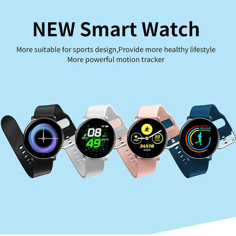 スマート腕時計スポーツファッション男性女性スマートウォッチecg + ppg血圧計心拍トラッカーandroidブレスレット