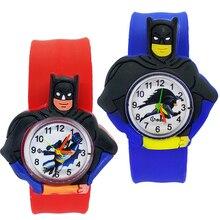 Children's Watches Cartoon Batman Toys Baby Clock Kids Watches