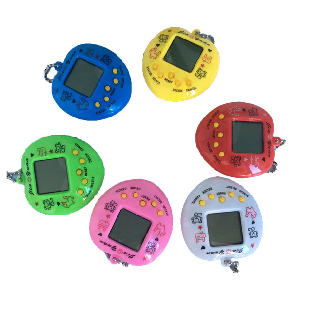 1pc Electronic Pet Game Machine Tamagochi 168 Pet In 1 Learning Education Toys For Children