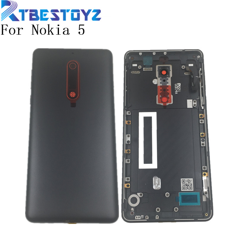 Genuine Dual Sim Back Battery Housing Cover Case Shell Body For <font><b>Nokia</b></font> 5 TA-<font><b>1053</b></font> image