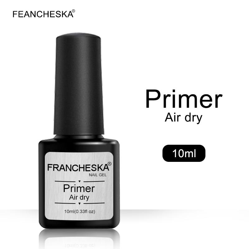 Francheska 10ml primer nail fast air dry nail primer nail art Acrylic no-acid primer base Dehydrator Nails Bonder Liquid