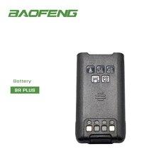 Baofeng 방수 워키 토키 UV 9R plusam 라디오 배터리에 대 한 원래 UV 9R 플러스 리튬 이온 배터리 이어폰 마이크