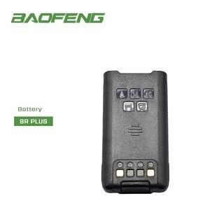 Image 1 - Original UV 9R PLUS แบตเตอรี่ Li Ion หูฟังไมโครโฟนสำหรับ Baofeng กันน้ำ Walkie Talkie UV 9R plusHam วิทยุแบตเตอรี่