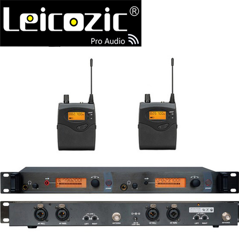 Leicozic Professionelle <font><b>in</b></font> ohr monitore sr2050 iem <font><b>in</b></font> ohr <font><b>monitor</b></font> system bühne überwachung system wireless <font><b>monitor</b></font> <font><b>in</b></font> ohr uhf kit image