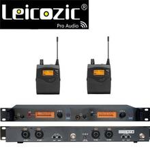 Leicozic מקצועי בצגי אוזן sr2050 iem באוזן צג מערכת שלב ניטור מערכת הצג האלחוטי אוזן uhf ערכת