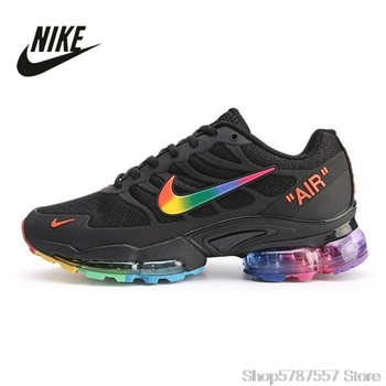 Nike Air Max 6183 Assassin Style 14 Air Cushion Women's Running Shoes Original Size 36-39 Spring2019 Breathable Low Lace-up EVA