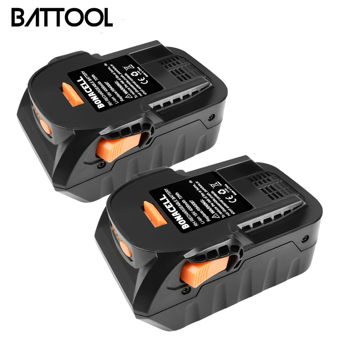BATTOOL 6000mAh 18V Li-ion For RIDGID R840083 R840085 R840086 R840087 Rechargeable Power Tool Battery Series AEG Series L30