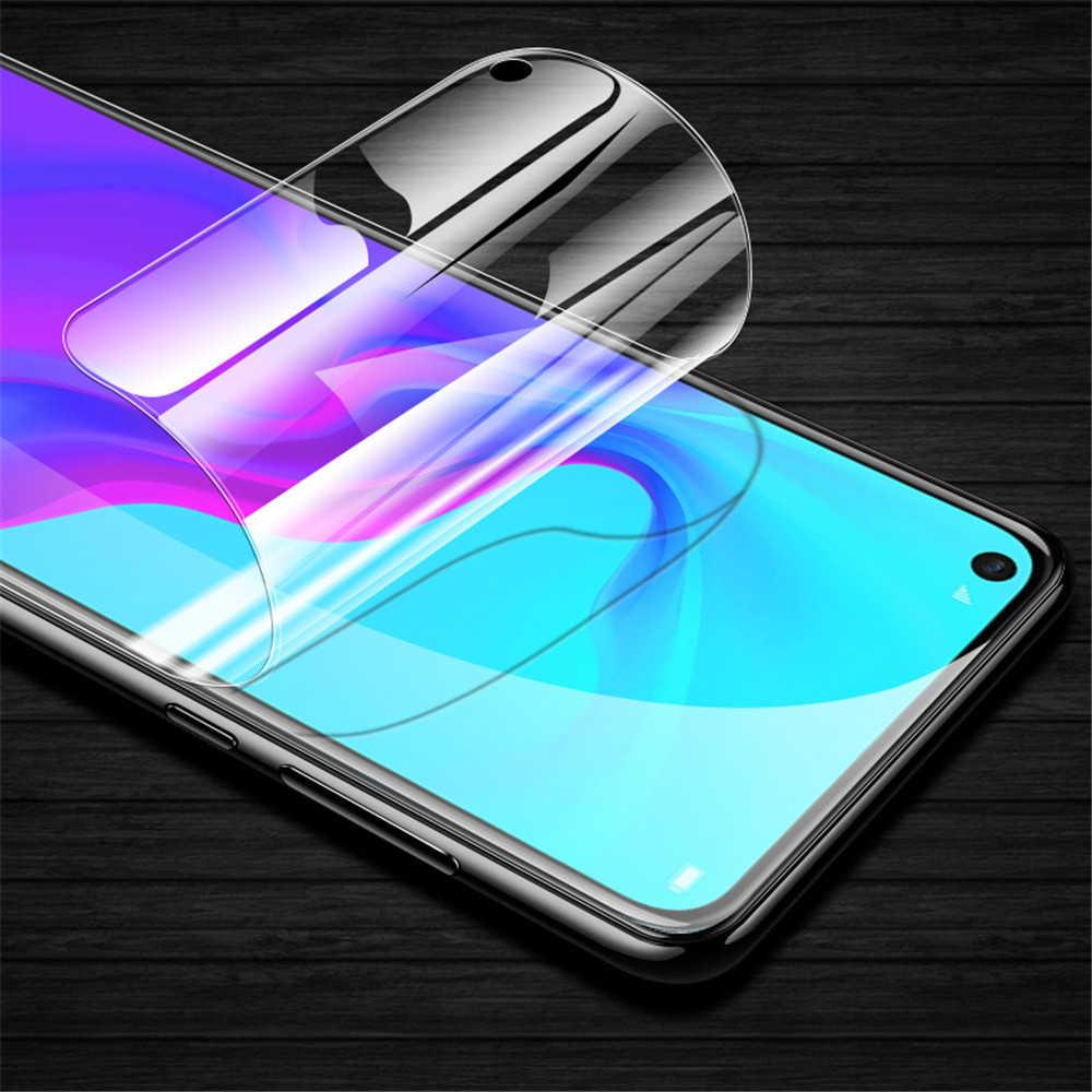 200D ön ve arka tam tutkal ekran koruyucu yumuşak hidrojel Film için Huawei P30 Pro P20 Lite Mate 30 onur 20 9X 20Pro kapak