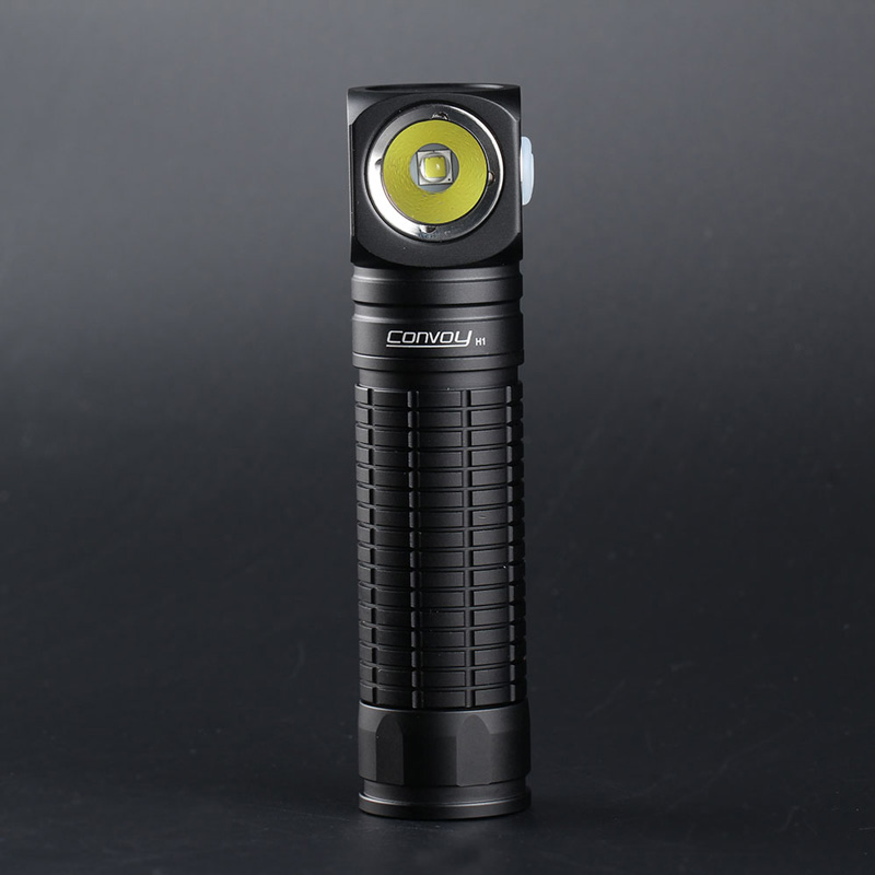 Convoy H1 L2 Multifunctional Flashlight Head Light Original Angle Flashlights Waterproof By 18650 Battery For Search Fishing