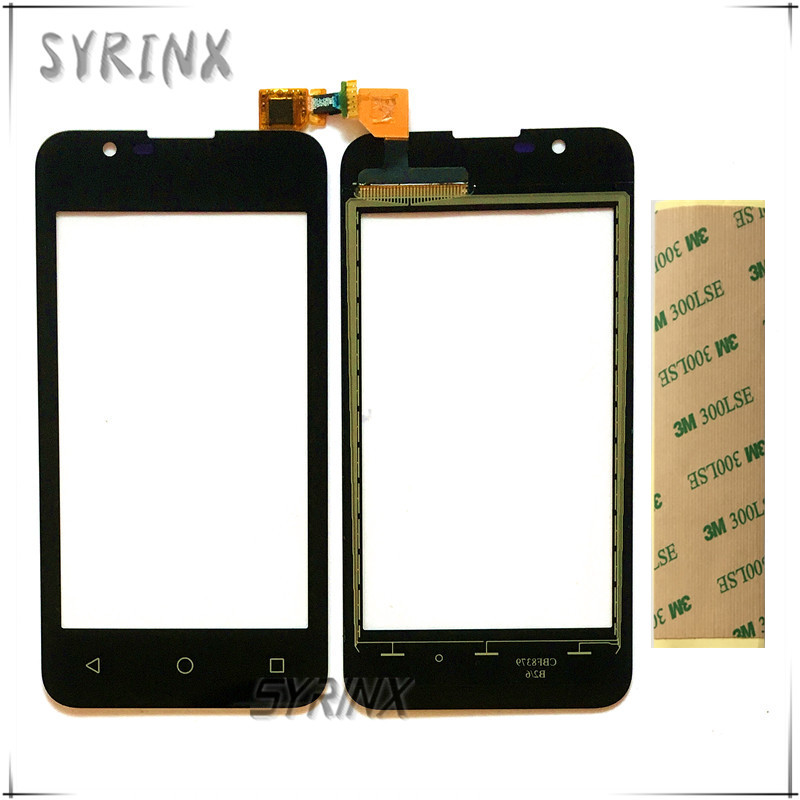 Syrinx + Tape Touch Screen Sensor Digitizer For BQ BQ-4072 BQ 4072 Strike Mini BQS 4072 Front Glass Sensor External Touchscreen