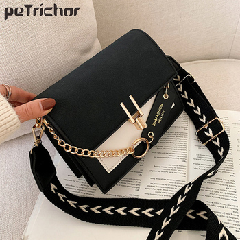 fashion rivet casual shoulder bag messenger bag retro simple women bag handbag ladies flap motorcycle bag 18b9 Fashion Flap Bag Multifunction Handbag Casual Phone Bag Square Women Bag Shoulder Messenger Bag Black Women Small Crossbody Bag