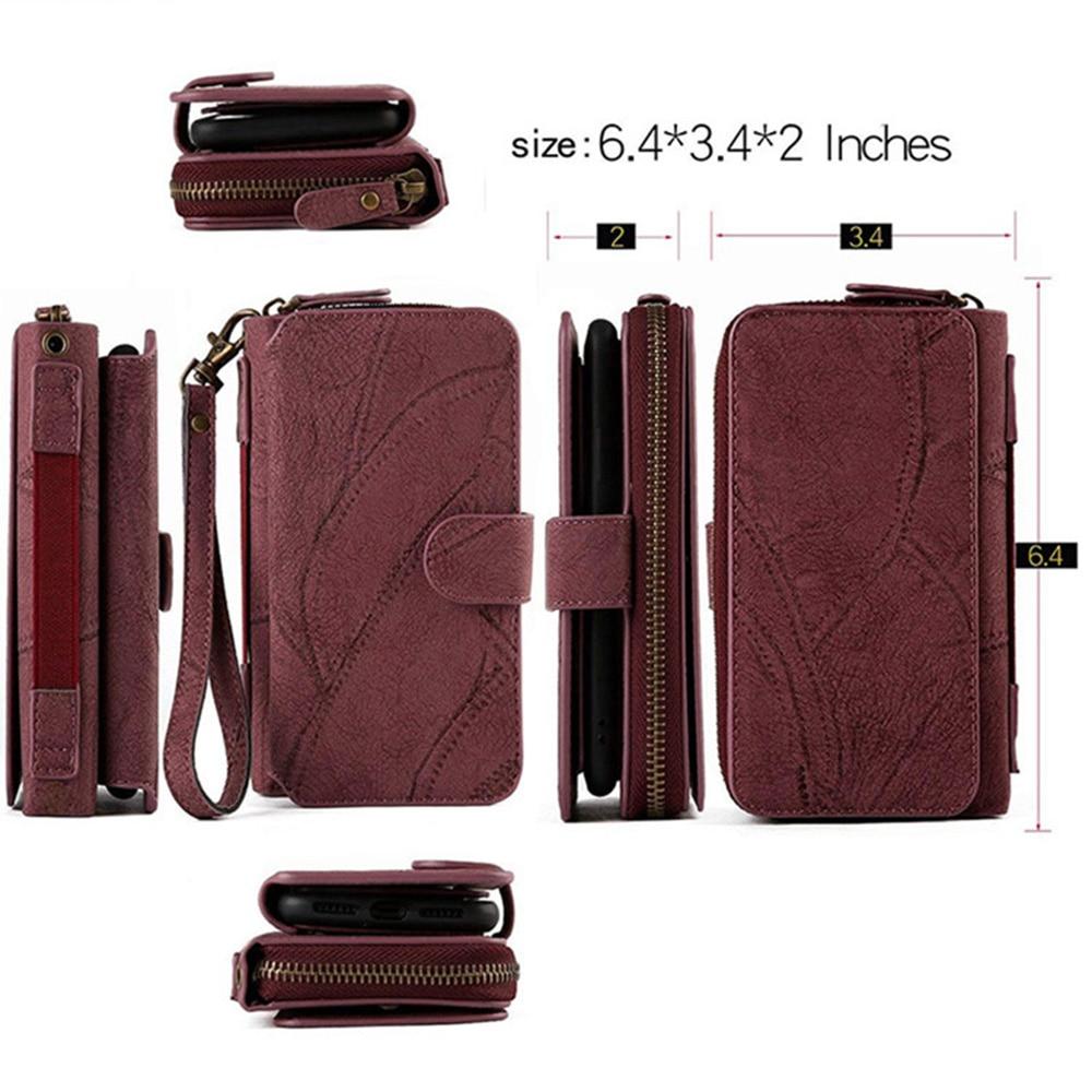 MEGSHI-SanDai multifungsi kulit telepon kasus untuk Samsung A51 A71 - Aksesori dan suku cadang ponsel - Foto 6