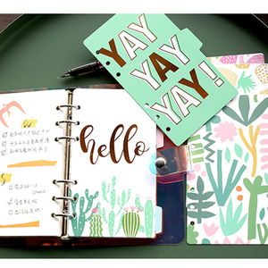 5pcs A5/A6 Colored Note Book I