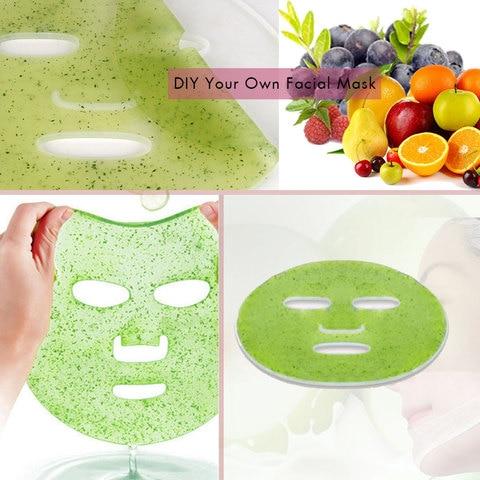 vegetais colageno natural mascaras faciais fabricante terapia